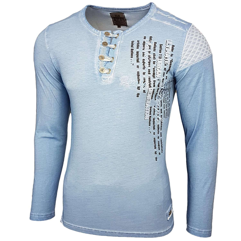 Rusty Neal Herren Longsleeve T Shirt Langarmshirt Langarm Sweatshirt 10139