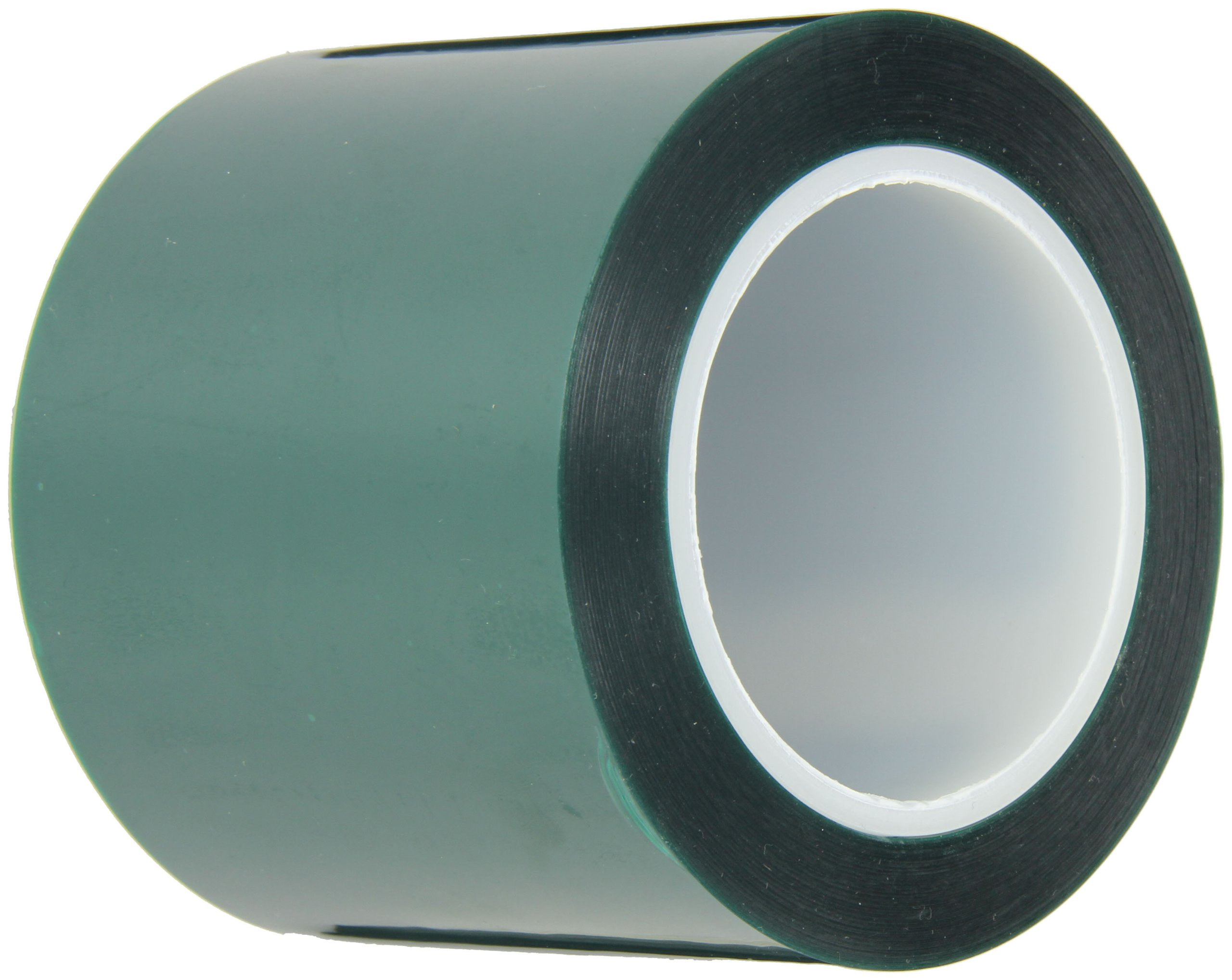 Maxi 248 Polyester/Silicone Single Coated Splicing Tape, 3.3 mil Thick, 72 yds Length, 4'' Width, Green