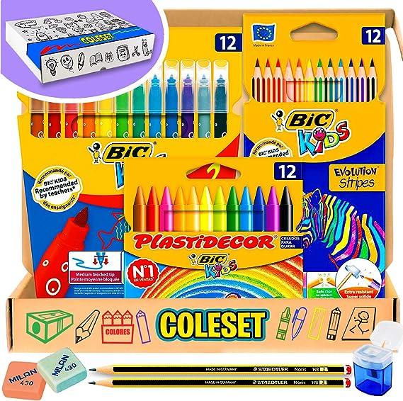 Pack vuelta al cole y Pack material escolar Papeleria - Material ...
