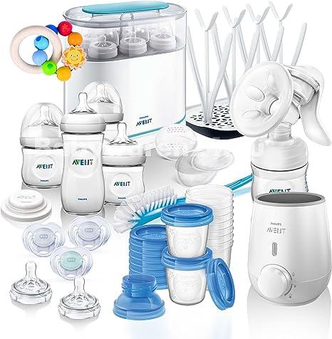 /con muchos accesorios/ Philips AVENT naturnah Starter de Juego de mega III All-in-One/ /Starter Set Lactancia Materna