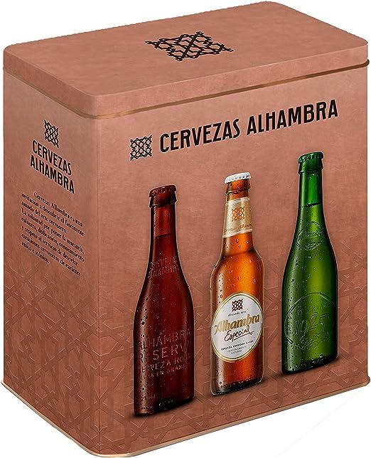 Alhambra Cerveza nacional Edición especial- Pack con 6 botellas x ...