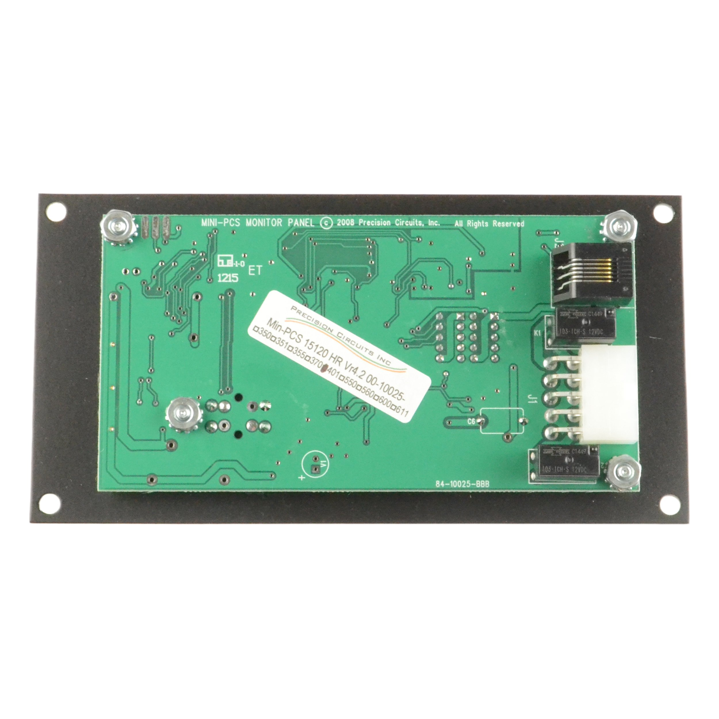 Precision Circuits 00-10025-401 Monitor Panel by Precision Circuits (Image #2)