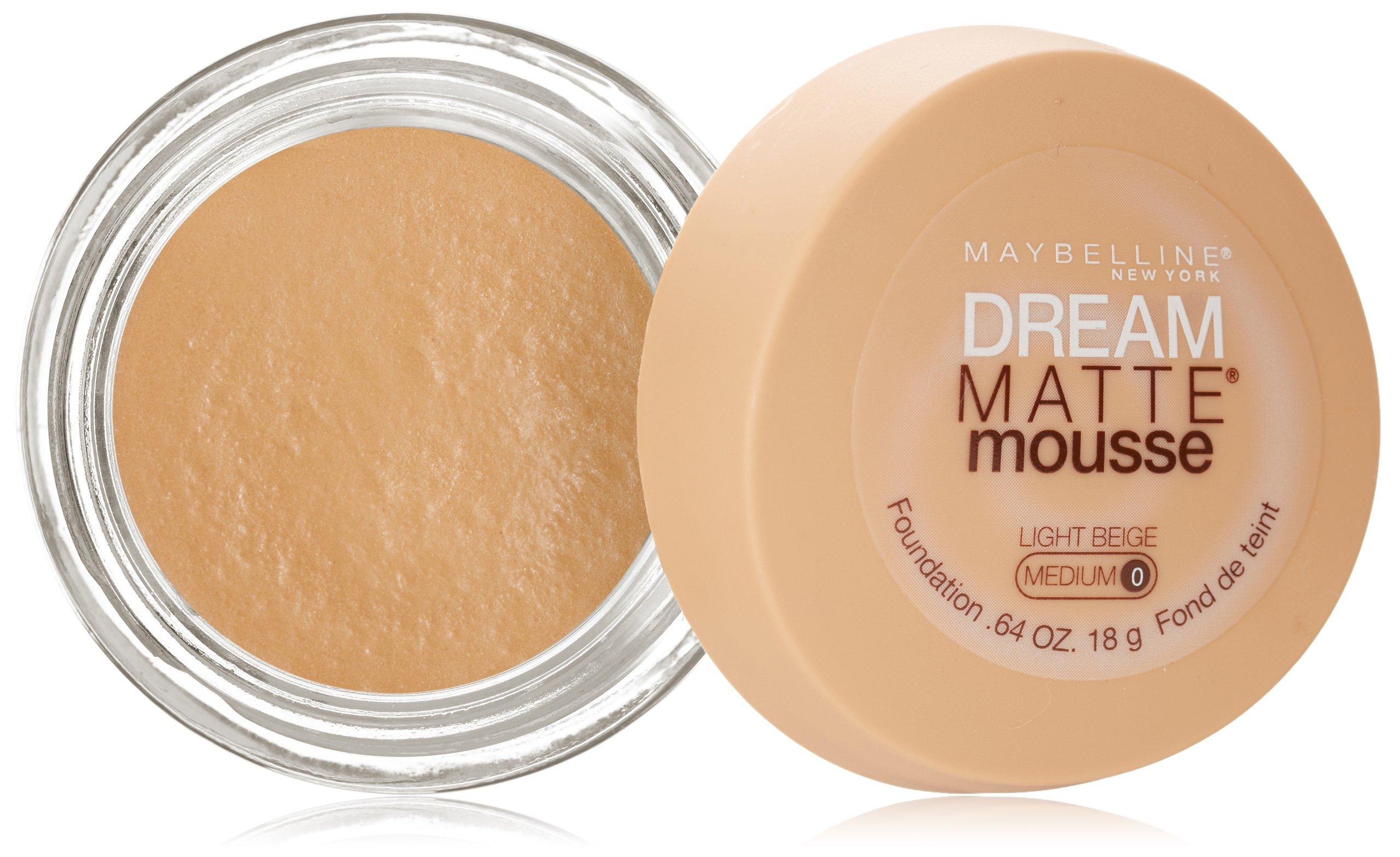 maybelline dream matte mousse foundation natural beige fl oz foundation. Black Bedroom Furniture Sets. Home Design Ideas