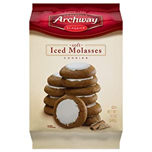Archway Archway Iced Molasses Cookies, 12 Ounce