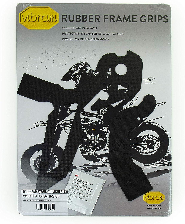 Vibram M7355N Black Off-road Rubber Frame Pads