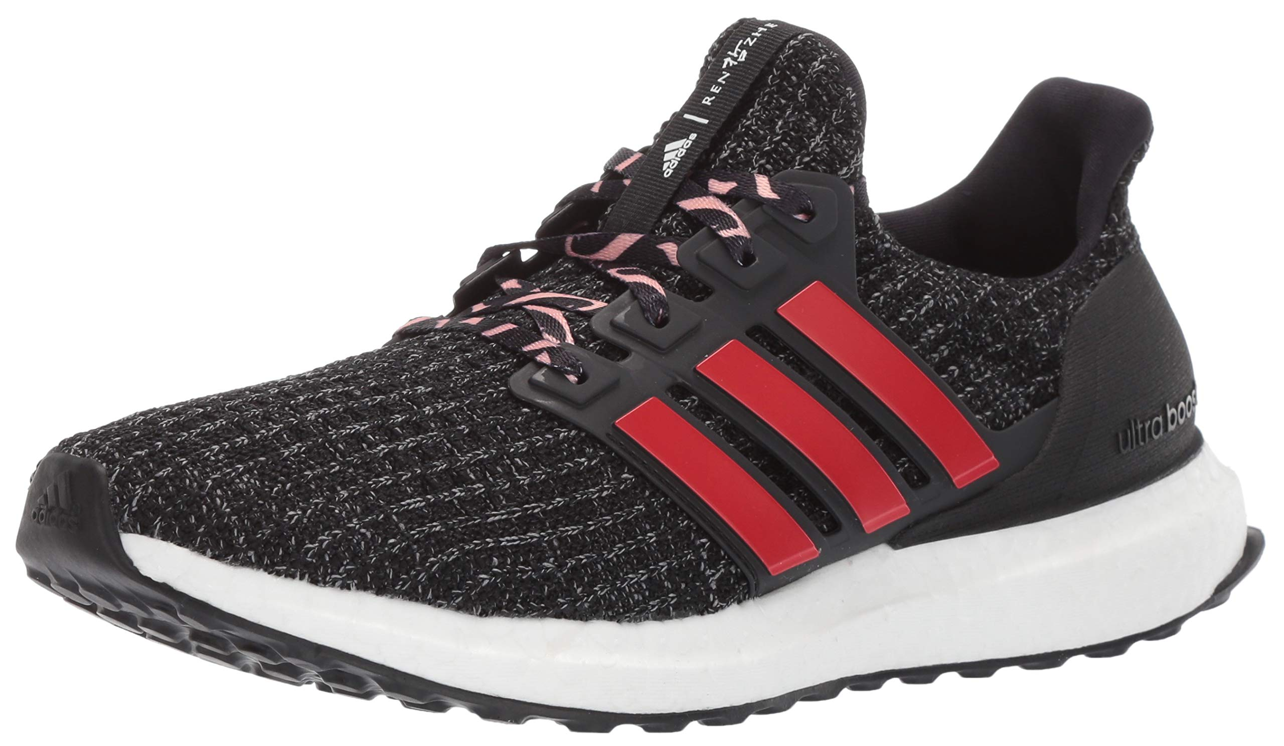 adidas Ultraboost, Black/Grey/Clear Orange 5.5 M US Big Kid by adidas