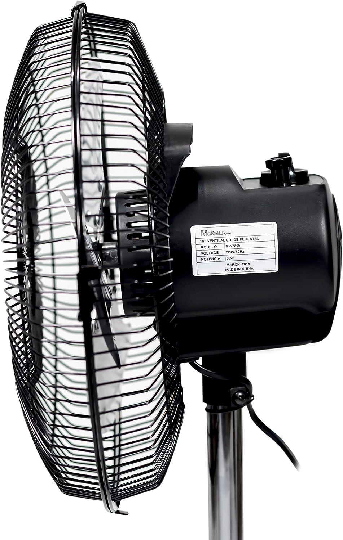 Maxell Power CE Ventilador 2 EN 1 PIE Suelo SOBREMESA 50W 10 ...