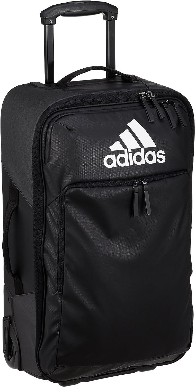 adidas T.Trolley M Bolsa Lona de Deporte, Unisex Adulto, Black/Black/White, NS