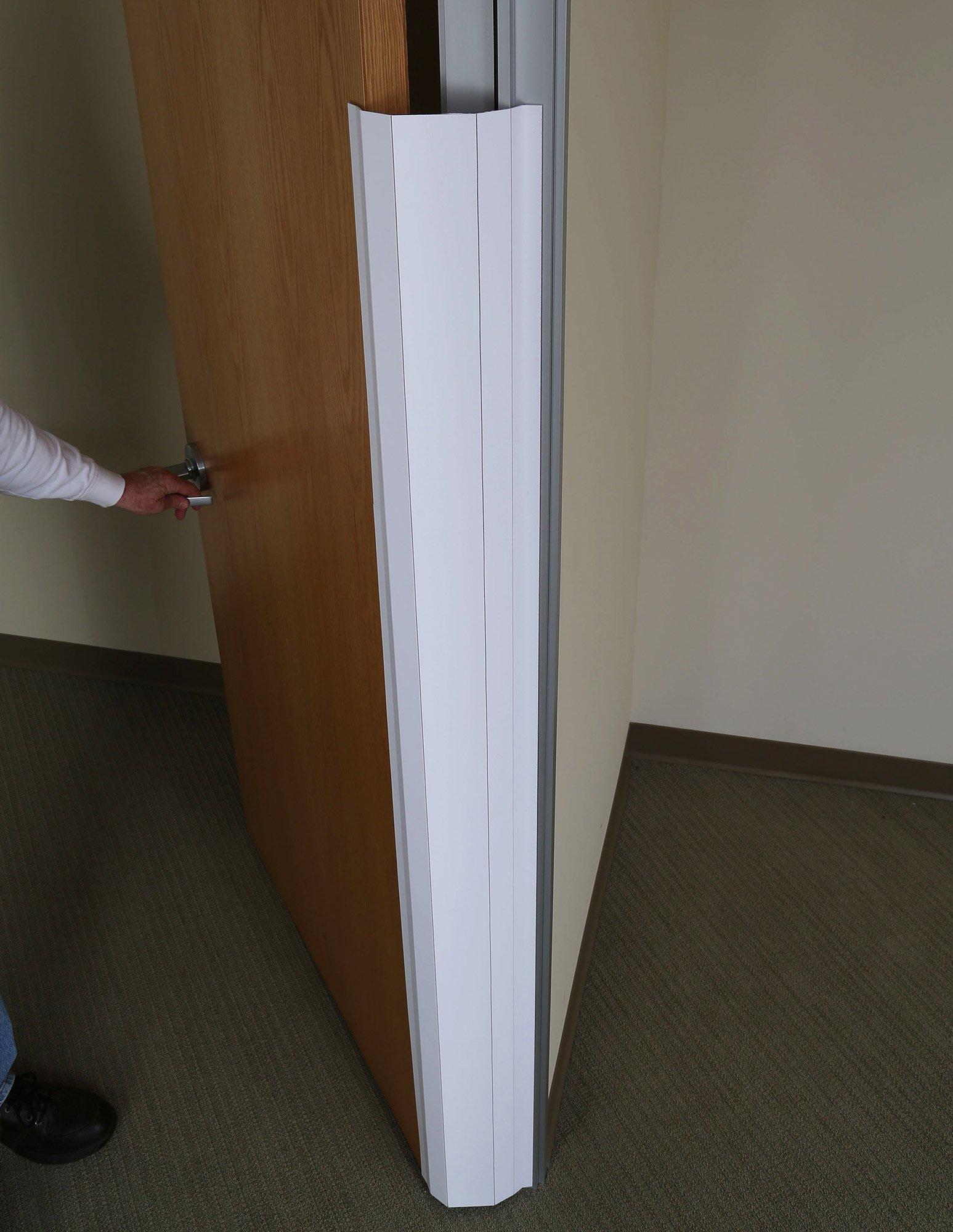 PinchNot Commercial Set Door Finger Hinge-Side Safety Guard Shield Protector