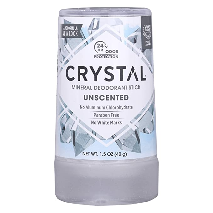 CRYSTAL Mineral Deodorant Stick - Unscented