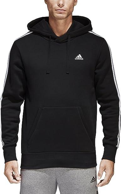 Conclusión Tío o señor La playa  Amazon.com: adidas Men's Essentials 3-Stripe Pullover Hoodie: ADIDAS:  Clothing