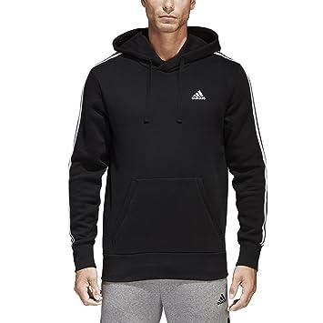 adidas Men s Essentials 3-Stripes Sudadera con Capucha para - F1754MCL310C, Negro