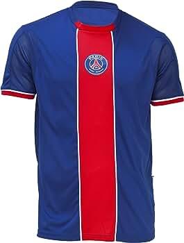 Paris Saint Germain - Camiseta de fútbol, talla para niño, azul, 6 años: Amazon.es: Ropa y accesorios