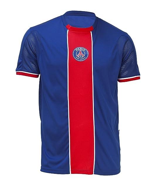 7a45e3195d031 Paris Saint Germain Camiseta Fútbol Club Liga 1 - Talla de Niño  Amazon.es   Ropa y accesorios