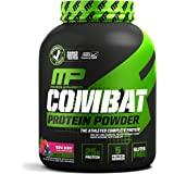 MusclePharm Combat Protein Powder - Essential blend of Whey, Isolate, Casein and Egg Protein with BCAA's and Glutamine for Recovery, Triple Berry, 4 Pound