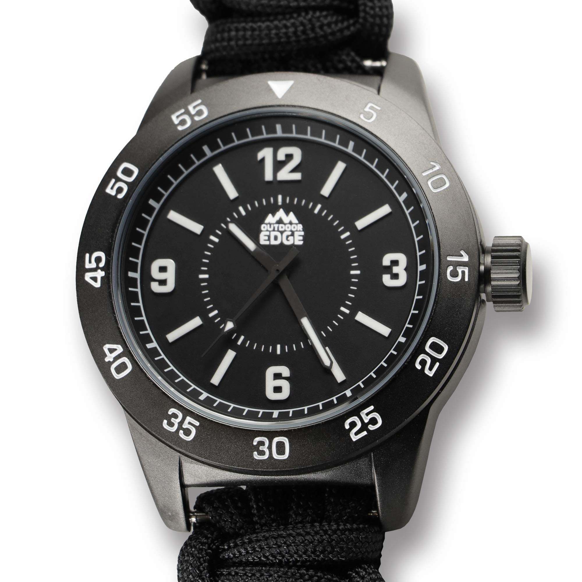 Outdoor Edge OEPW90Z-BRK Paraclaw CQD Watch Large by Outdoor Edge