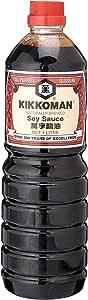 Kikkoman Soy Sauce, 1L - packaging may vary