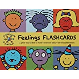 Feelings Flash Cards: A Great Way for Kids to Share and Learn About All Kinds of Emotions (Flash Cards for Infants, Speech Th