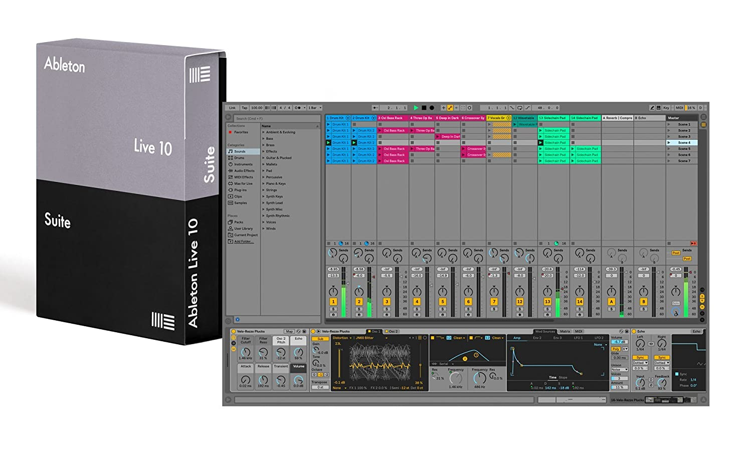 front facing ableton live 10