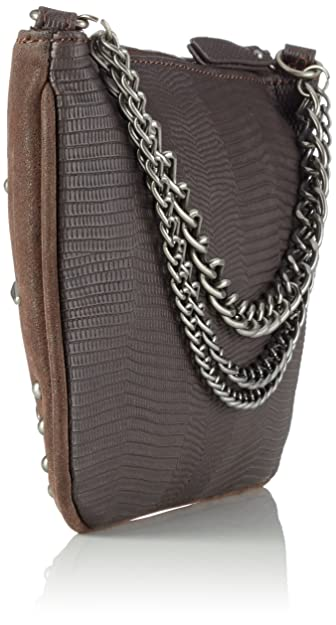Desigual Elmira Selfy, Brown Crossbody, One Size: Amazon.co.uk: Shoes & Bags