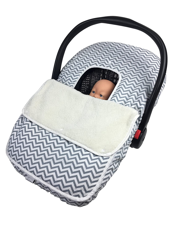 Newborn Baby Girl Boy Car Seat Canopy Basket Buggy Cover Cotton Blanket Soft