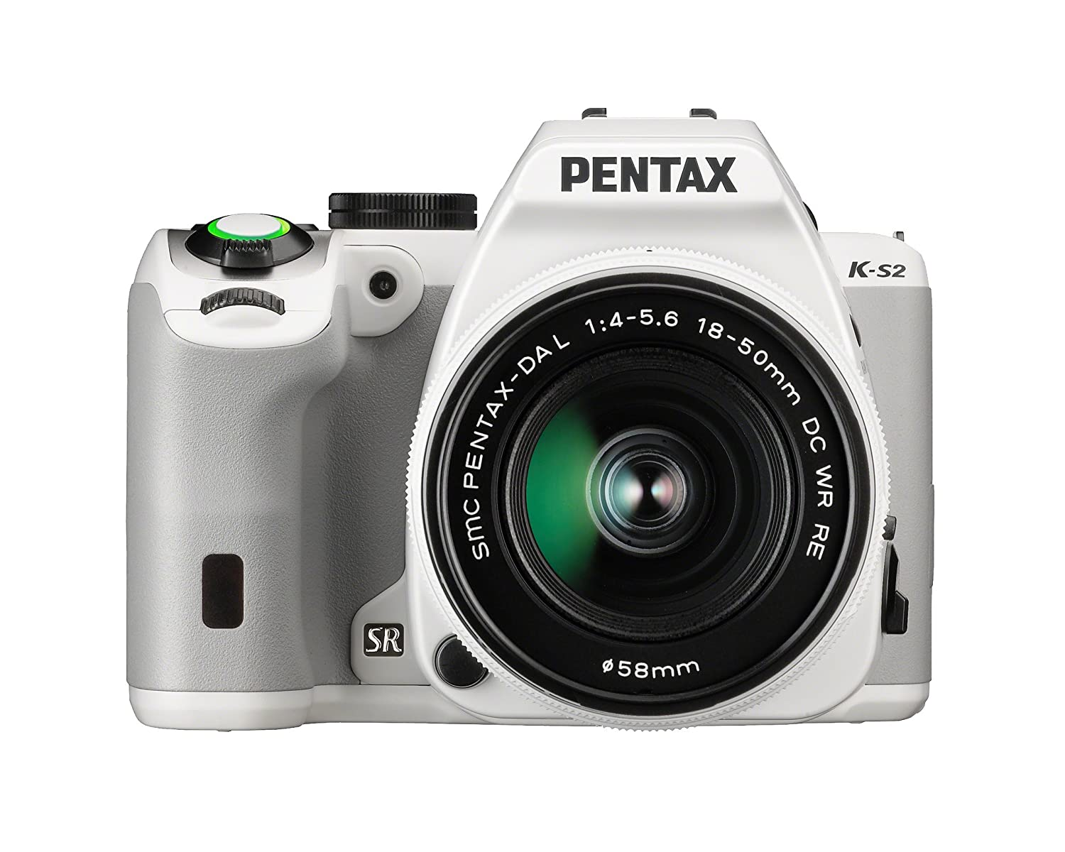 Pentax K-S2 20MP Wi-Fi Enabled Weatherized SLR (White)
