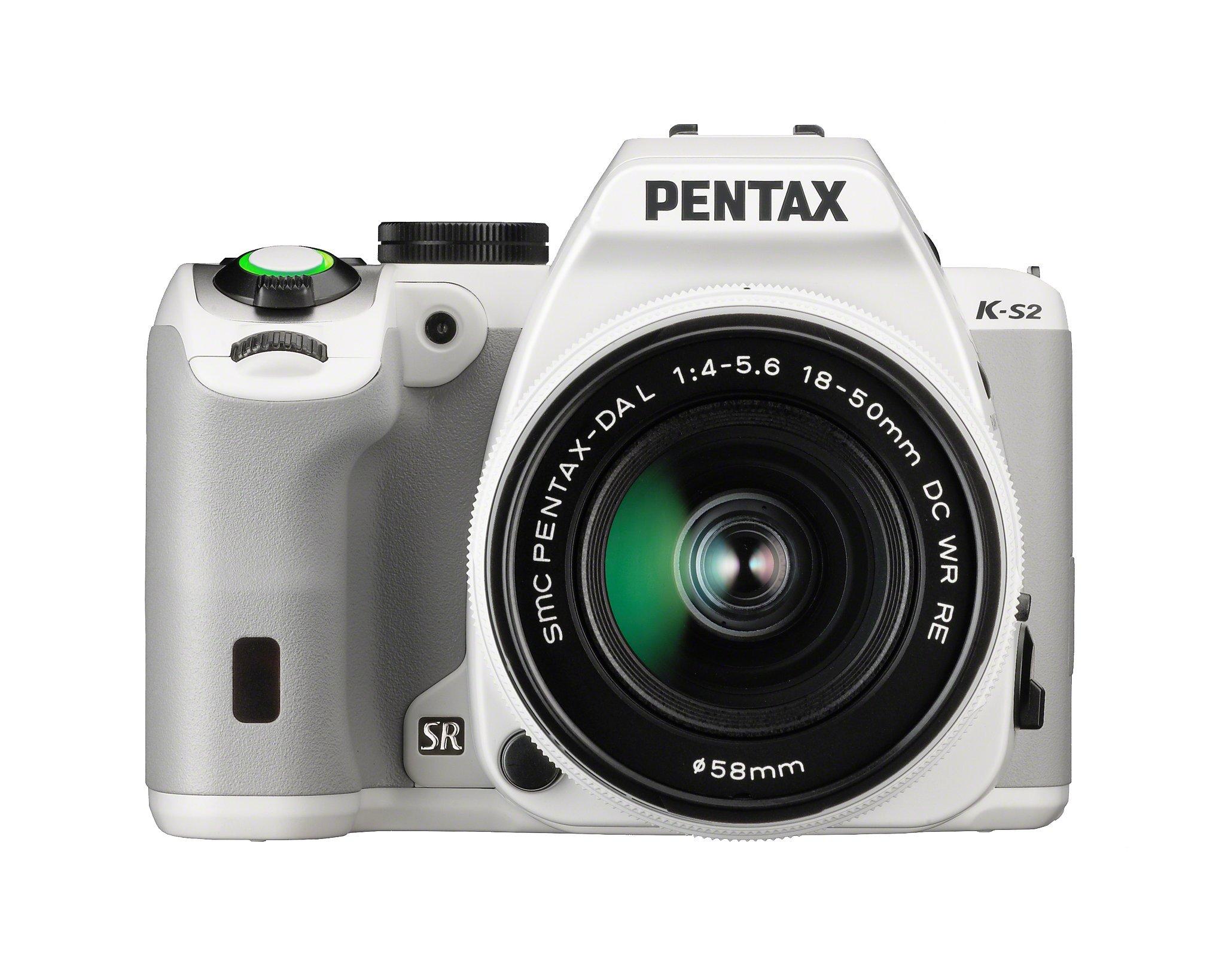 Pentax K-S2 20MP Wi-Fi Enabled Weatherized SLR (White)