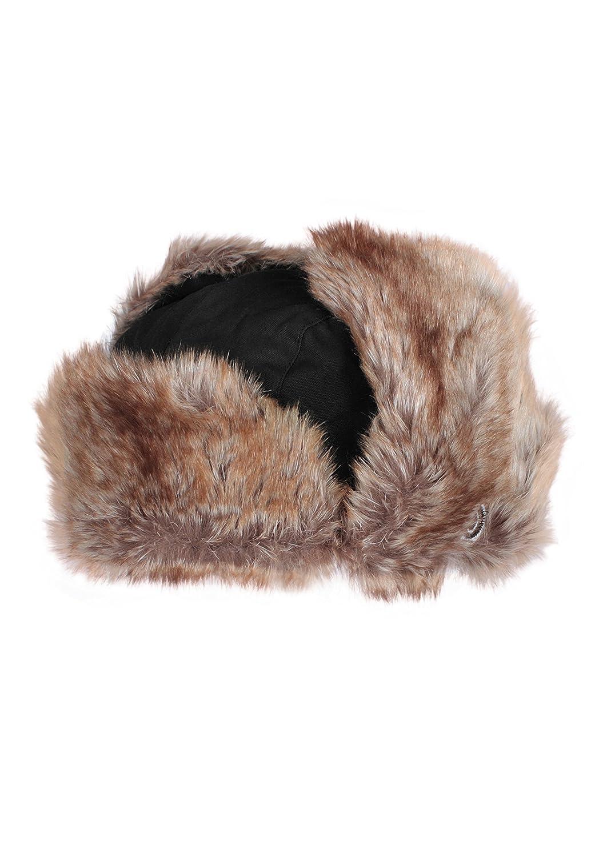 dbb681c54 Japanese Style Trapper Hat - Russian Ushanka Aviator Fake Faux Fur Hat