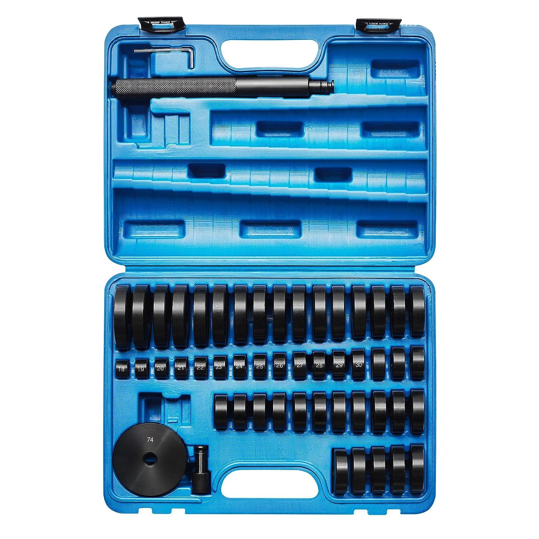 KRAFTPLUS® K.267-2052 Coffret d'extracteurs à frapper de roulements / arrache roulement paliers rondelles de montage - 52 pièces KRAFTPLUS®