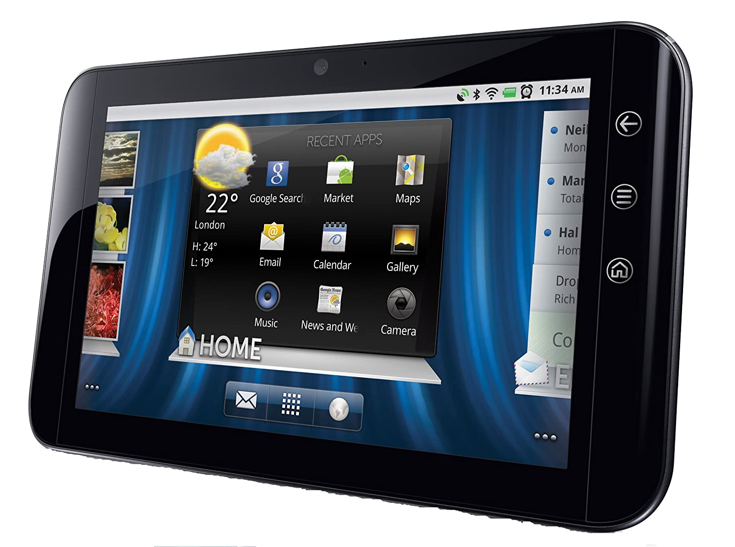 Amazon.com: Dell Streak 7 4G Android Tablet (T-Mobile): Cell Phones &  Accessories