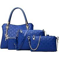 Pahajim bolso de las señoras señoras de regalo set señoras personalidad bolsa de cosméticos 4 unidades set bolso de las…