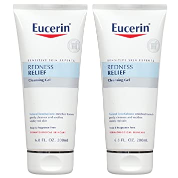 Eucerin Redness Relief Soothing Cleanser 6.80 oz (Pack of 3) Shiseido Future Solution LX Total Regenerating Cream, 1.7 Oz