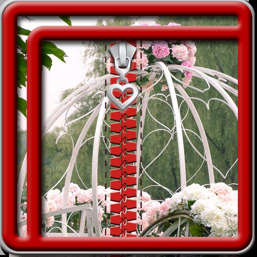 Zipper Lock Screen Wedding