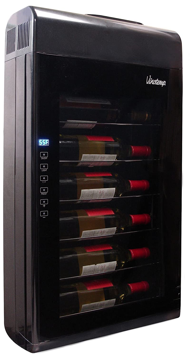 Amazon.com: Vinotemp VT-6TED-WB 6 Bottle Wall-Mounted ...