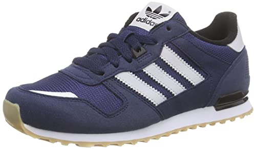aa32584153cc1 adidas Originals Unisex Kids  ZX 700 Low-Top Sneakers Blue Size  11 Child
