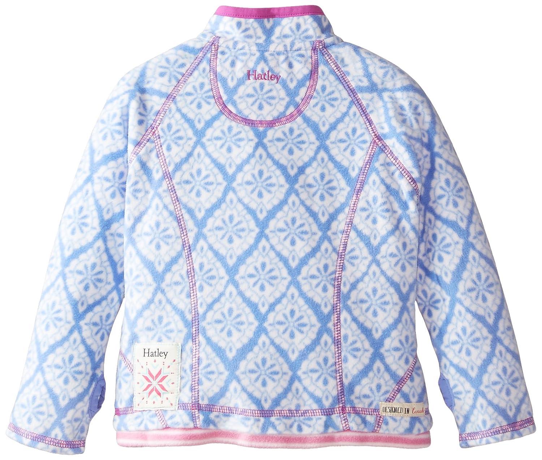 Hatley Girls Mock Neck Fleece Jacket