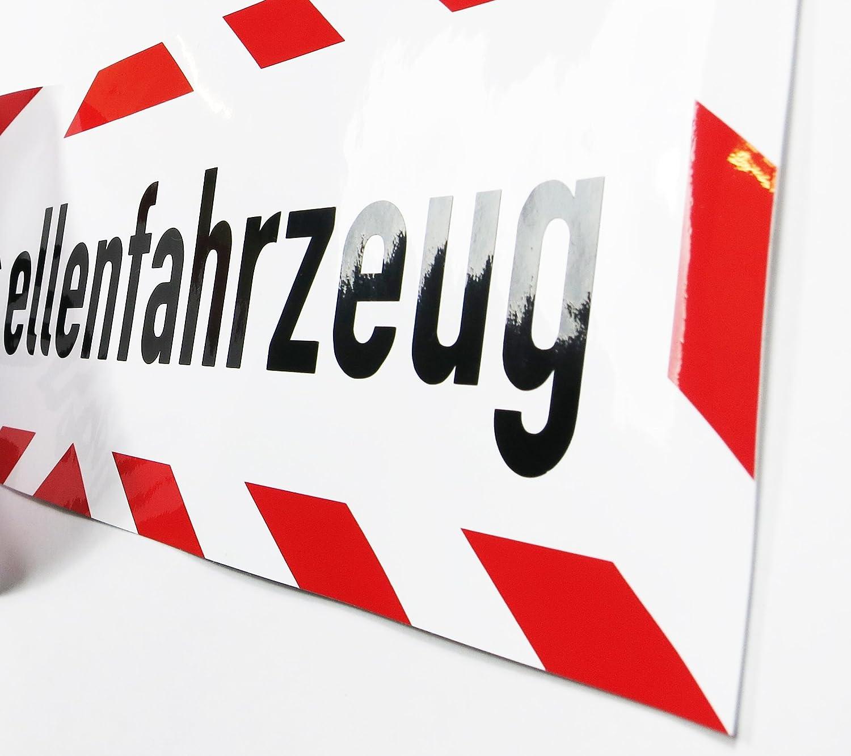 Lohofol Kfz Aufkleber Baustellenfahrzeug Wetterfest Und Uv Beständig Lieferbar In Verschiedenen Größen 35 X 10 Cm Auto