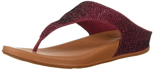 5d077b158b00 Fitflop Women s Banda Glitz Sandal  Amazon.co.uk  Shoes   Bags