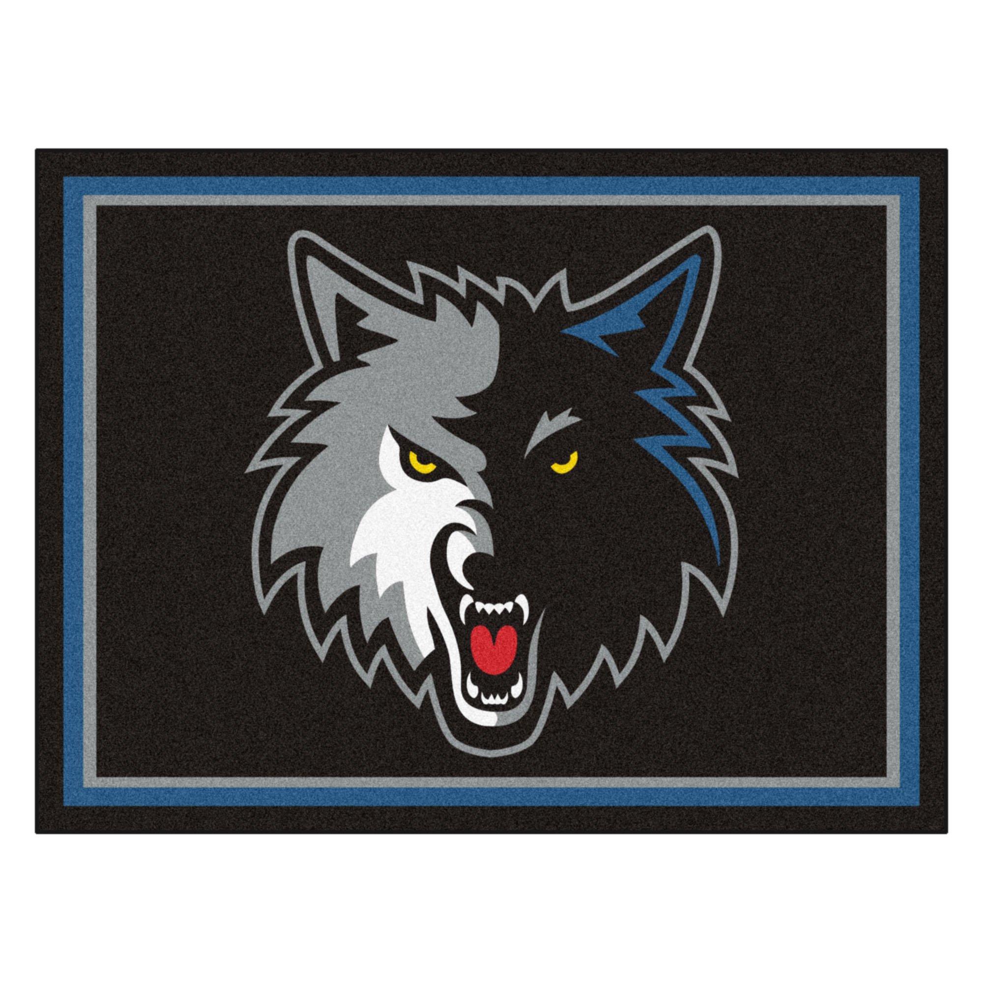 FANMATS 17459 NBA Minnesota Timberwolves Rug