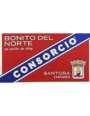 Consorcio - Bonito del Norte en Aceite de Oliva - 110 g - [pack de 4]