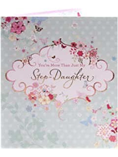 Boofle Stepdaughter Happy Birthday Greeting Card Cute Range