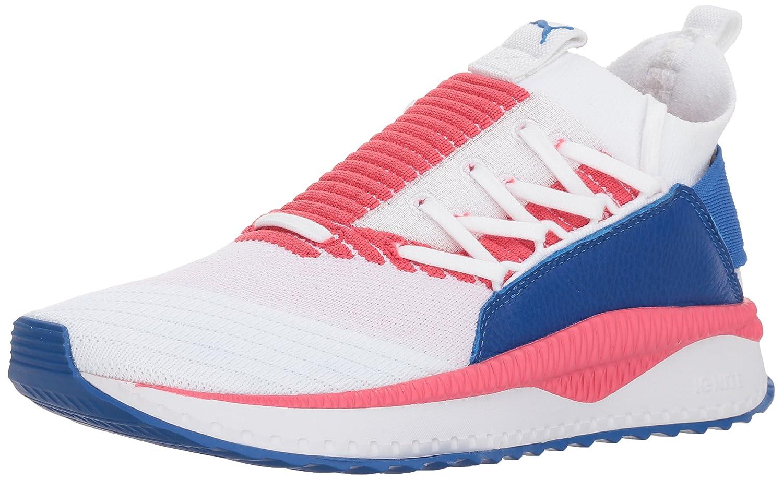 PUMA Women's Tsugi Jun Multi WN's Sneaker B07BC3JXFW 5.5 B(M) US|Puma White-paradise Pink-nebula Blue
