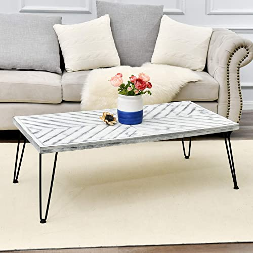 Tempered Glass Coffee Table for Living Room, Modern Living Room Table with Lower Shelf, Clear Tempered Glass Top with Metal Legs, Living Room Furniture, Waiting Area Table, 39.4 W X 23.7 D X 17.7 H