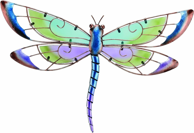 Amazon.com : Regal Art U0026 Gift Dragonfly Wall Decor, Purple : Wall  Sculptures : Garden U0026 Outdoor