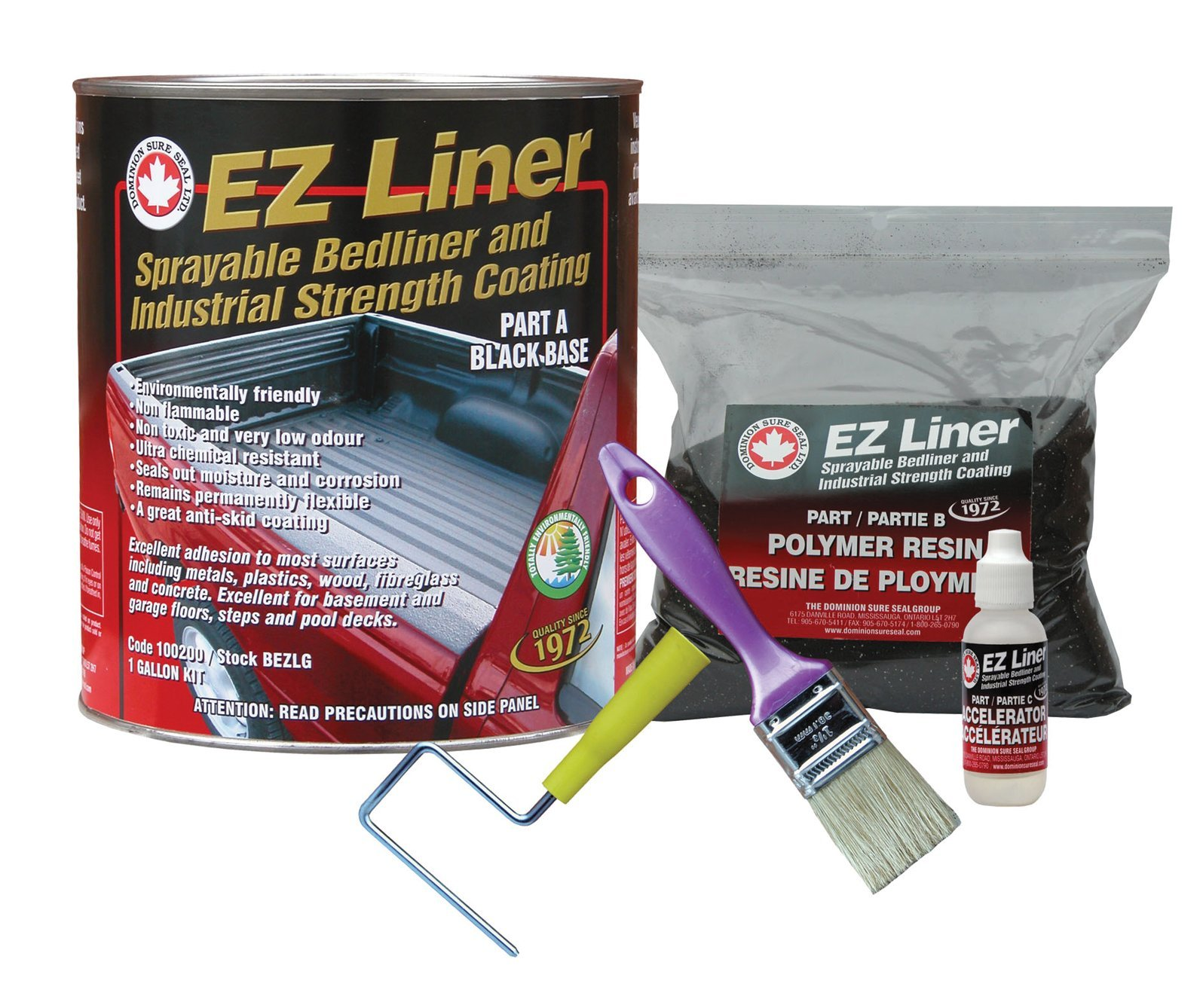 Dominion Sure Seal BEZLG EZ Liner Bedliner and Industrial Coating by Dominion Sure Seal