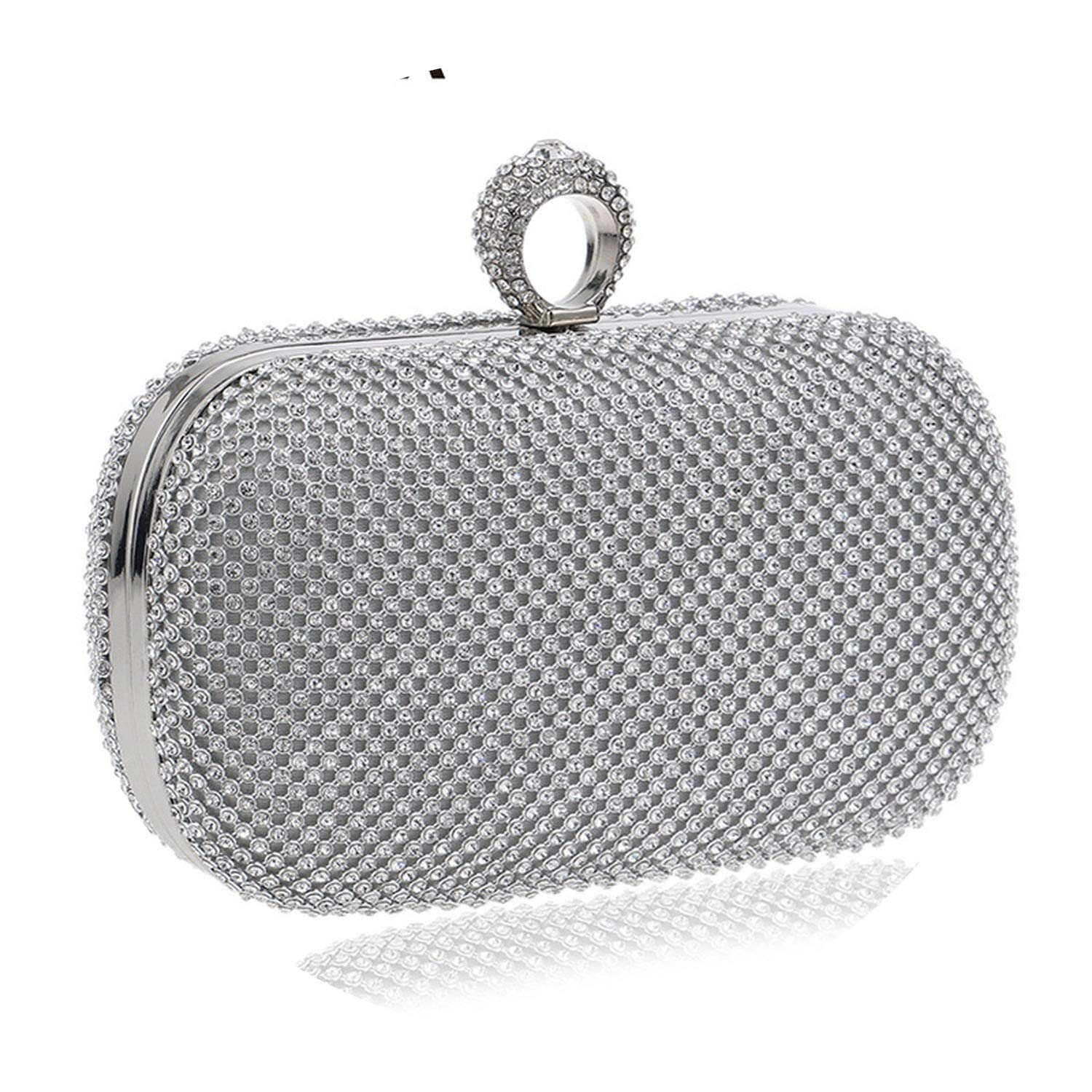 Glittering time Evening Clutch Bags Diamond-Studded Evening Bag,YM1000Gold,China