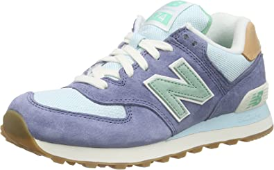 New Balance Wl574 Bcc-Blue-37: Amazon.ca: Shoes & Handbags