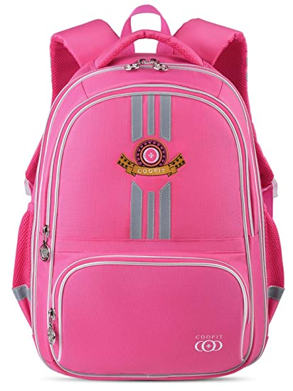 Coofit Cartable fille Sac a dos fille en Nylon Sac ecole fille primaire  Design original Sac 28f91e40dae6