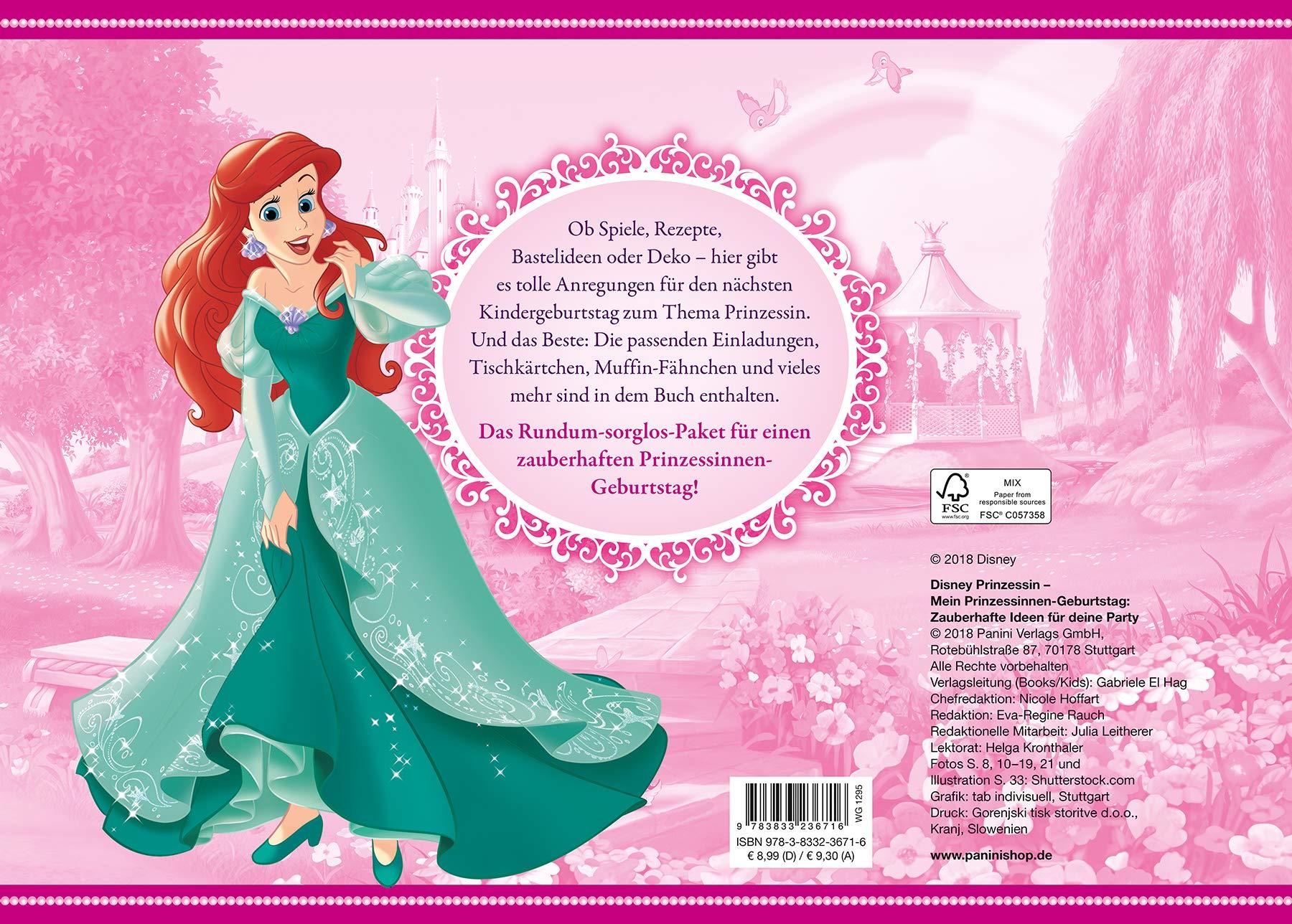 Disney Prinzessin Mein Prinzessinnen Geburtstag Zauberhafte Ideen