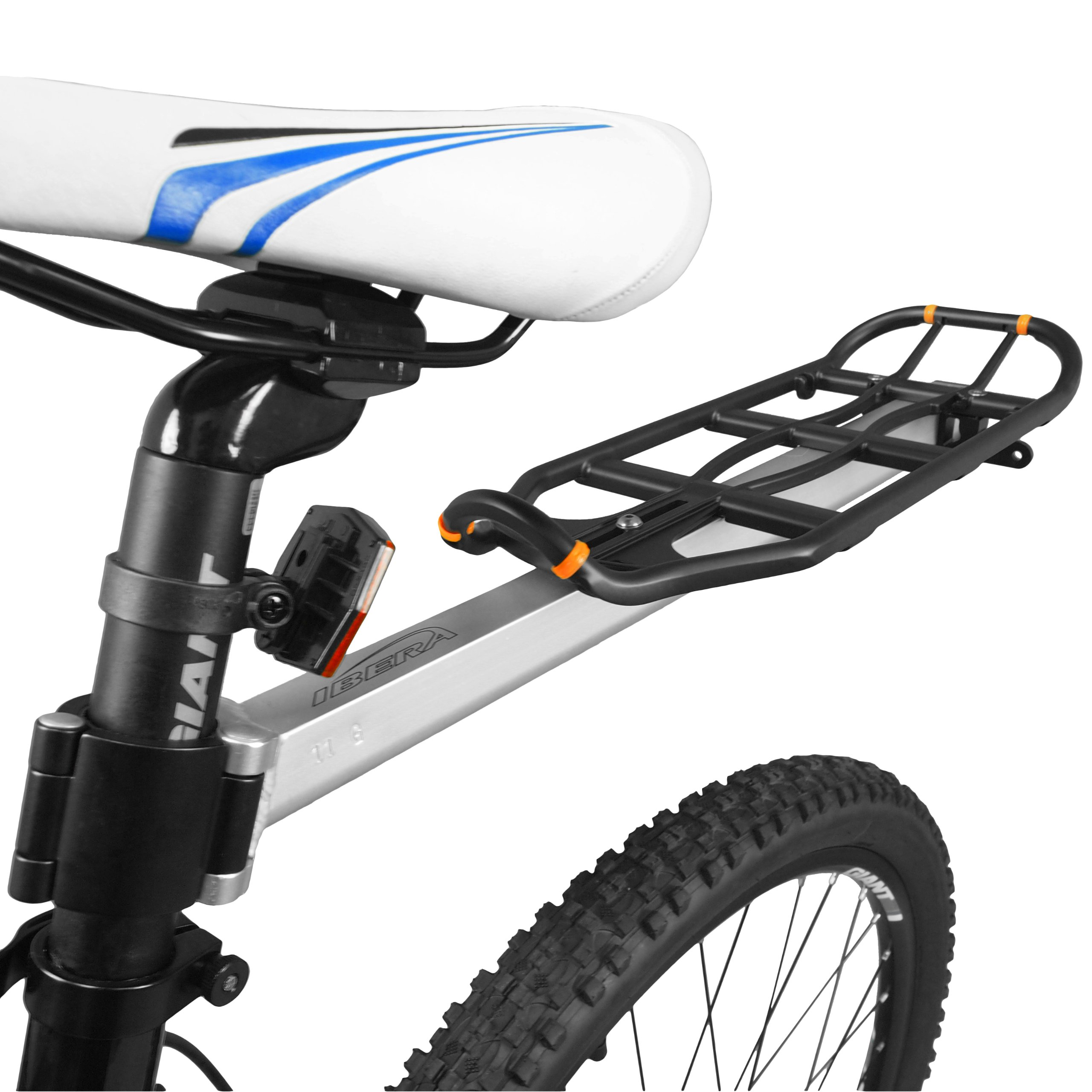 Ibera PakRak Bicycle Seat Post Commuter Rack and Quick-Release Bag by Ibera (Image #3)